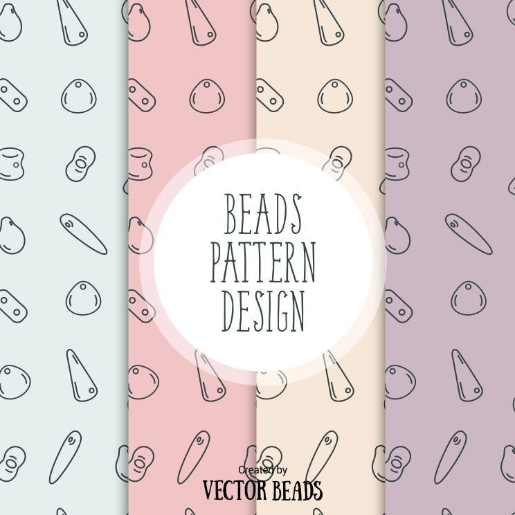 Beads pattern design free download