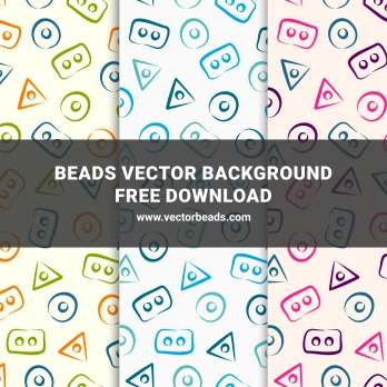 Beads vector background free download