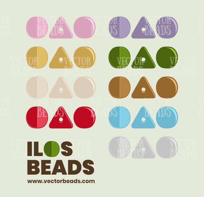 Ilos Par Puca Beads